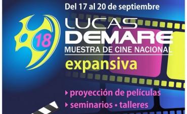 """Esta tarde inaugura la 18° Muestra de Cine Nacional """"Lucas Demare"""""""