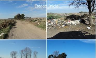 El Gobierno Municipal trabaja en la remediación ambiental de la cava de acceso a L'amalí