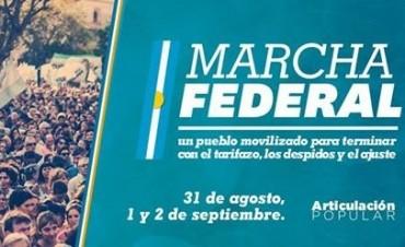 Un centenar de olavarrienses participará de la Marcha Federal