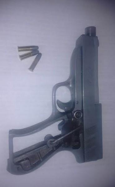 Aprehendieron a una persona por portación de arma