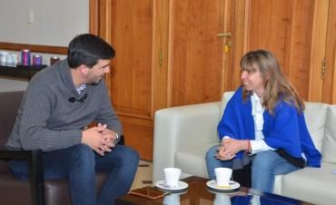 El intendente Galli recibió a la nueva Directora de Minería bonaerense
