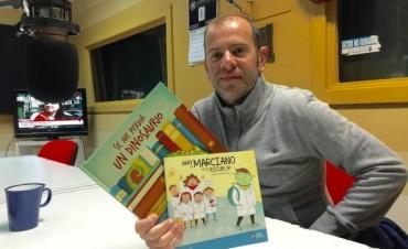 Diego Rojas presenta sus nuevos libros