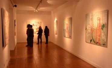 Continúa la muestra de artistas locales en el Museo Dámaso Arce