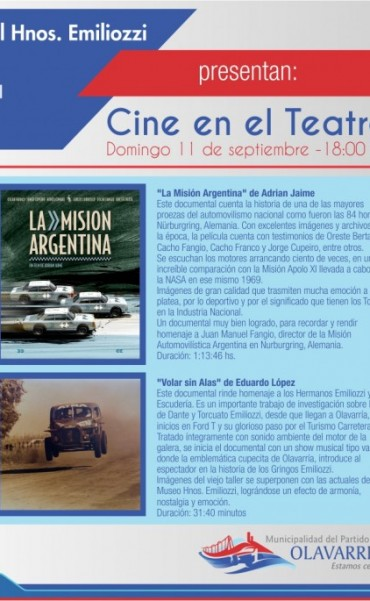 Cine para los amantes del automovilismo