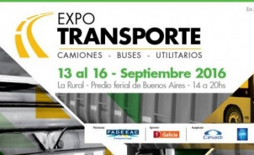 Inicia la Expotransporte y será cobertura de LU32