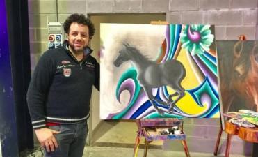 Leo Rinaldi primer premio en platería ecuestre tradicional del Fondo Nacional de las Artes 2016