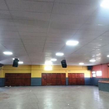 Una obra gigante para el club El Fortín