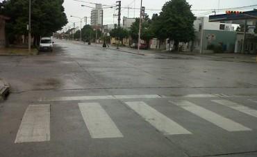 Domingo gris y con alerta por precipitaciones intensas