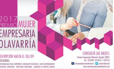 Abierta la convocatoria al premio Mujer Empresaria 2017