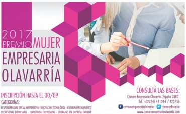 Convocatoria al premio Mujer Empresaria 2017