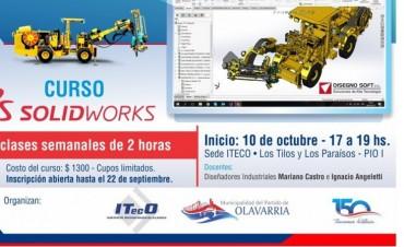 Nueva edición del curso SolidWorks