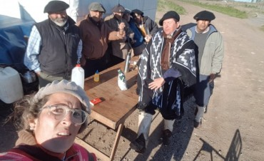 Los Gauchos Peregrinos ya viajan rumbo a Luján