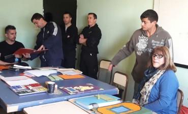 El Director de discapacidad del Municipio de Olavarría visitó la Unidad Nº2