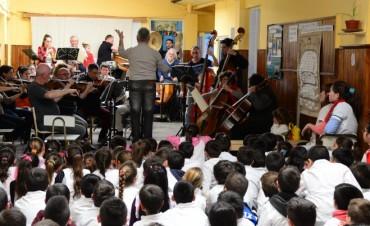 La Sinfónica a la Escuela