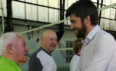 Bruno Cenizo sigue recorriendo Olavarría y las localidades