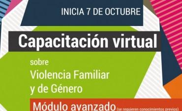 Violencia Familiar y de Género: continúa la capacitación
