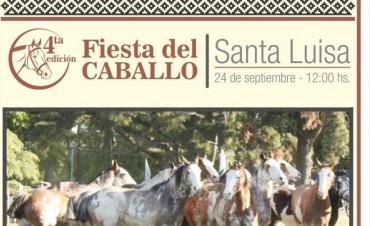 La Fiesta del Caballo se celebra en Santa Luisa