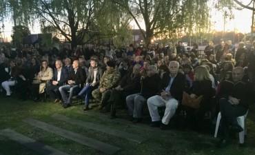 Se realizó el acto homenaje a Helios Eseverri a 10 años de su fallecimiento