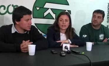La candidata a diputada nacional Vanesa Siley estuvo en Olavarría