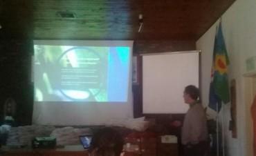 Autoridades de la Dirección Agropecuaria en la Jornada de Cultivos de Gruesa