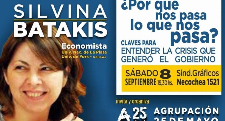 Silvina Batakis en Olavarria