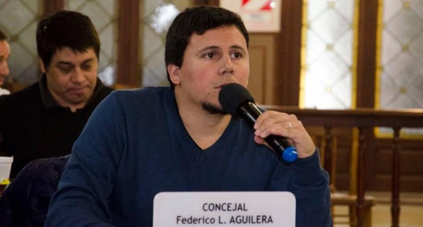 El concejal Aguilera le presentó medidas anticrisis al intendente Galli