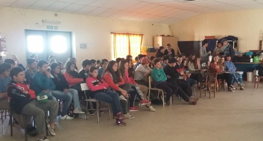 Continúan las charlas de educación vial en localidades