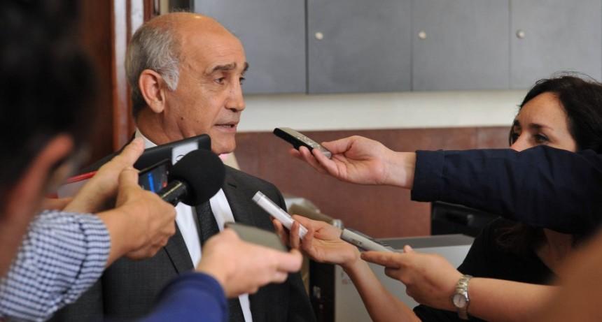 Vidal encabezó la reunión semanal de su gabinete en La Plata