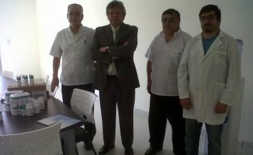 """OSDE entregó medicamentos en el Hospital """"Héctor Cura"""""""
