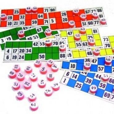 Lotería Familiar en el SUM de la Escuela Industrial