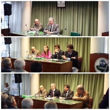 Sin Aníbal ni Pitrola, pasaron los candidatos a gobernador por CARBAP
