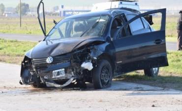 Una joven perdió la vida tras un vuelco en ruta 226 a la atura del Km 292