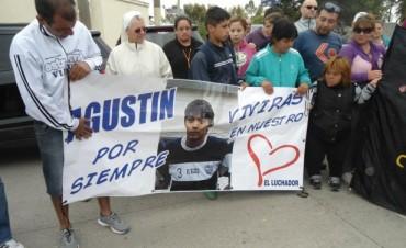 Marcha por el aniversario de la muerte de Agustín Ovejero