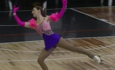 Mariana Espil: entre el patín y la danza
