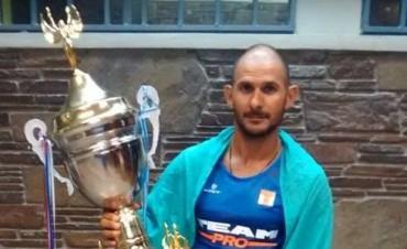 Mauricio Olivera dueño de la 1ra. Edición de la carrera de Cosecha Mundial