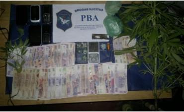 Dos aprehendidos: Secuestran cocaína y marihuana