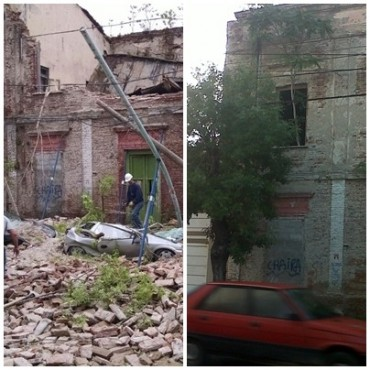 El derrumbe del Patrimonio