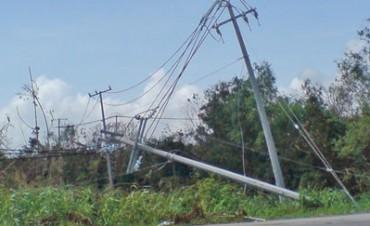 Energía: la zona mas complicada tras la tormenta es la rural