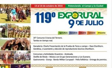 Dos importantes multiexpos CARBAP se inauguran este fin de semana en Nueve de Julio y Huanguelen