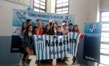Natación. Ferro subcampeón provincial