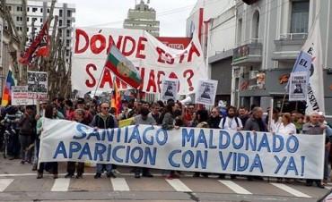 Olavarría marchó por la 'aparición con vida de Santiago Maldonado'