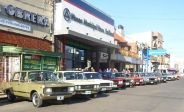El 13° Encuentro Internacional de Fiat 125 en Olavarría