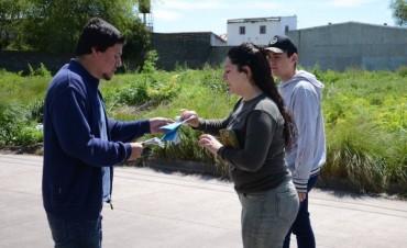 Unidad Ciudadana recorrió la ciudad llevando sus propuestas