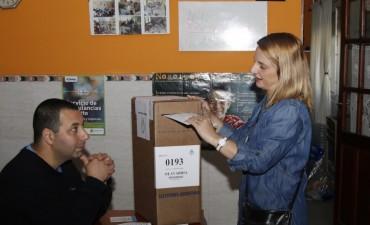 Votó Victoria De Bellis