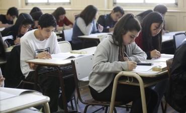 Educación: este martes y el próximo serán fechas de evaluaciones