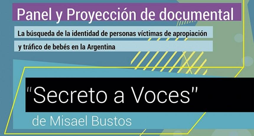 Proyectan 'Secreto a voces'