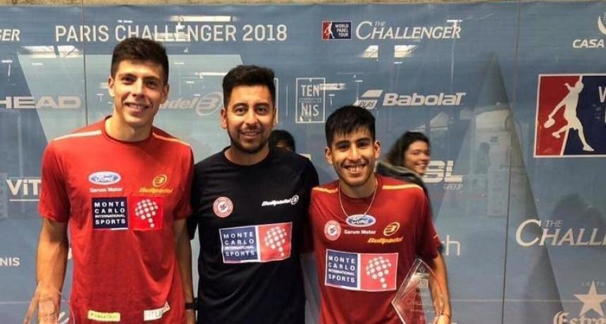 Fede Chingotto y Juan Tello se coronan en el primer Challenger parisino
