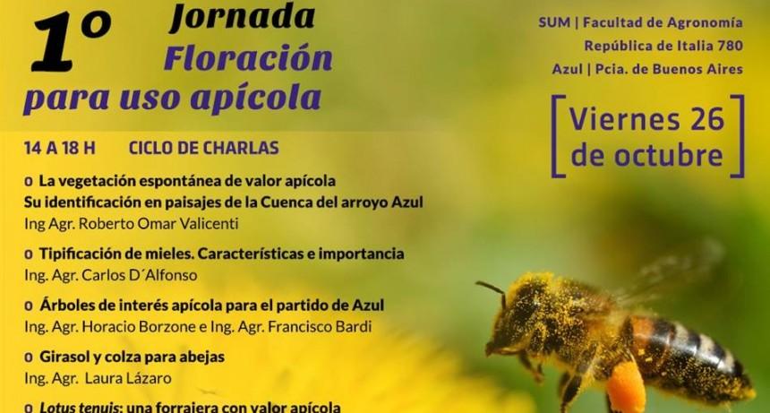 Azul: Jornada sobre Floración para Uso Apícola