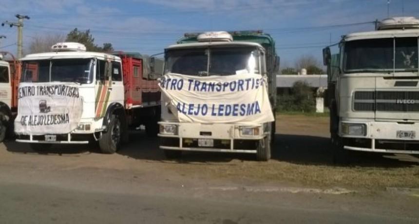 Paran los transportistas de cargas este miércoles