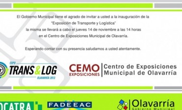 Exposición de Transporte y Logística en el CEMO